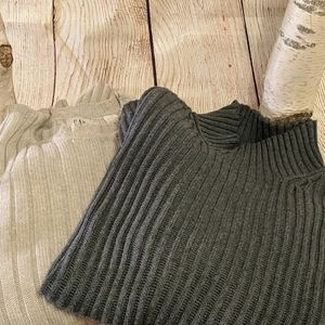Set of The Gap Ribbed Sweaters